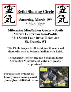 Reiki Circle flyer